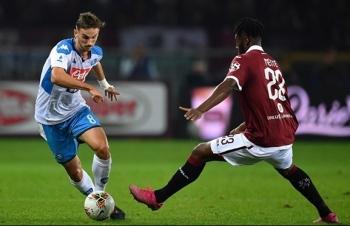Link xem trực tiếp Napoli vs Torino (Serie A), 23h ngày 17/10