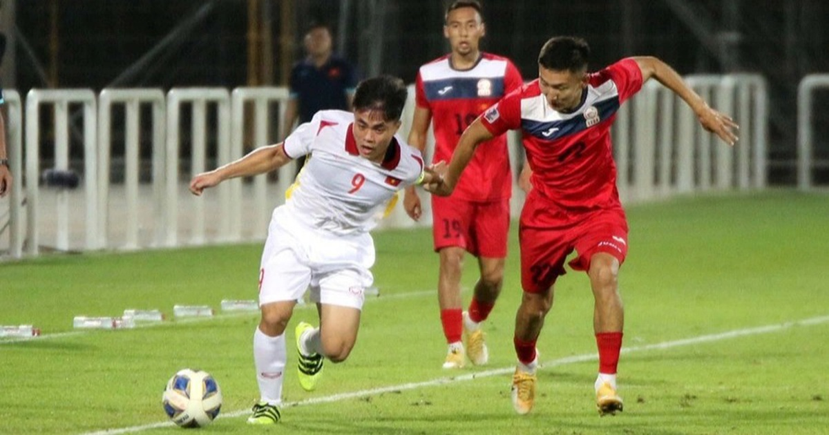 HLV Park Hang Seo cầm quân, U23 Việt Nam thắng tưng bừng Kyrgyzstan