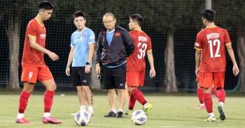 HLV Park Hang Seo yêu cầu khắt khe với U23 Việt Nam ở buổi tập cuối tại UAE