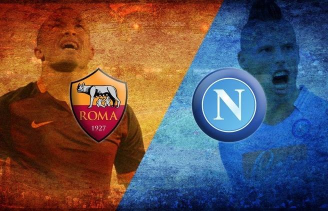 Link xem trực tiếp AS Roma vs Napoli (Serie A), 23h ngày 24/10