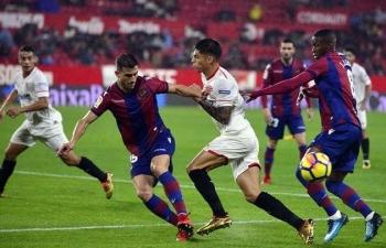 Link xem trực tiếp Sevilla vs Levante (La Liga), 19h ngày 24/10