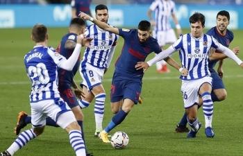 Link xem trực tiếp Atlético Madrid vs Real Sociedad (La Liga), 2h ngày 25/10