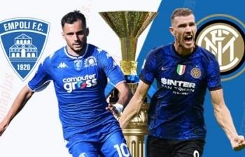 Link xem trực tiếp Empoli vs Inter (Serie A), 1h45 ngày 28/10