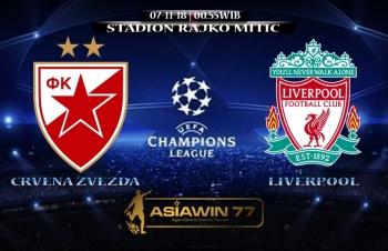 (LIVE) Tường thuật trực tiếp Crvena Zvezda vs Liverpool (C1 châu Âu): Liverpool thua sấp mặt 0 - 2