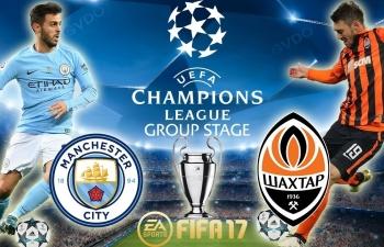 Link xem trực tiếp bóng đá Man City vs Shakhtar Donetsk, 3h ngày 8/11 (C1 châu Âu)