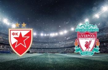 Xem trực tiếp Crvena Zvezda vs Liverpool (C1 châu Âu) ở đâu?