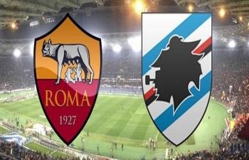 link xem truc tiep bong da as roma vs sampdoria serie a 21h ngay 1111