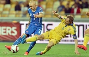 Xem trực tiếp bóng đá Slovakia vs Ukraine ở đâu?