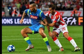 Link xem trực tiếp bóng đá Napoli vs Crvena Zvezda (C1 châu Âu), 3h ngày 29/11