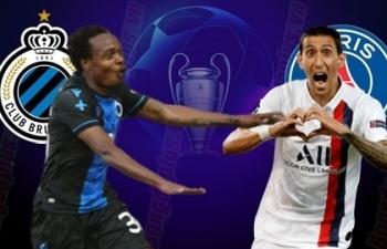 Xem trực tiếp PSG vs Club Brugge ở đâu?