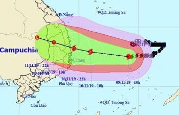 Các đơn vị truyền tải khu vực miền Trung sẵn sàng ứng phó bão số 6