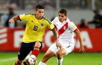 Link xem trực tiếp Peru vs Colombia (Giao hữu), 8h ngày 16/11