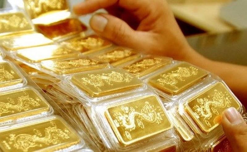 Giá vàng SJC đồng loạt tăng nhẹ