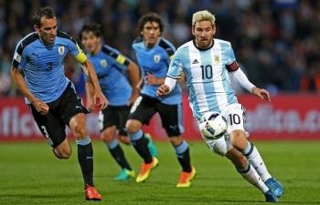 link xem truc tiep argentina vs uruguay giao huu 2h15 ngay 1911