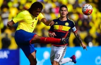 Link xem trực tiếp Ecuador vs Colombia (Giao hữu), 8h ngày 20/11