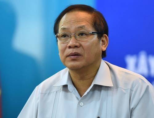 Cựu bộ trưởng Thông tin vàTruyền thông Trương Minh Tuấn. Ảnh: Giang Huy