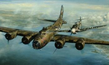 Phi công tiêm kích Đức tha mạng oanh tạc cơ Mỹ