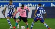 Messi gây thất vọng, Barcelona chia điểm cùng Alaves