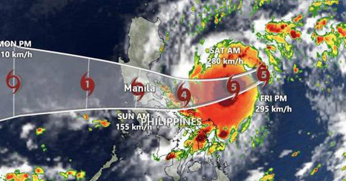 Chuyên gia khí tượng đánh giá cường độ bão Goni khi tác động đến Việt Nam