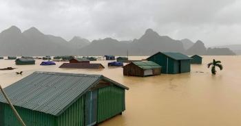 Anh hỗ trợ Việt Nam 500.000 bảng khắc phục hậu quả bão lũ