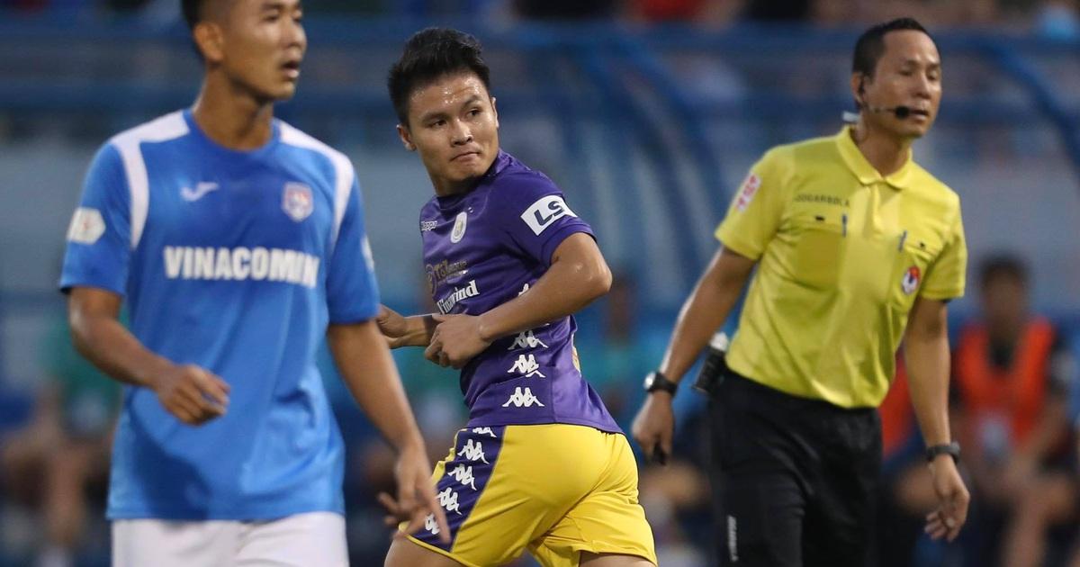 Thắng đậm Than Quảng Ninh, CLB Hà Nội về nhì tại V-League 2020