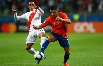 Link xem trực tiếp Chile vs Peru (Vòng loại World Cup Nam Mỹ), 6h ngày 14/11