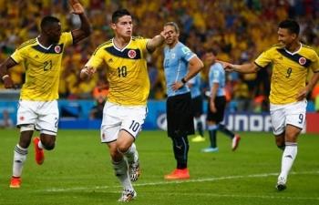 Link xem trực tiếp Colombia vs Uruguay (Vòng loại World Cup Nam Mỹ), 3h30 ngày 14/11