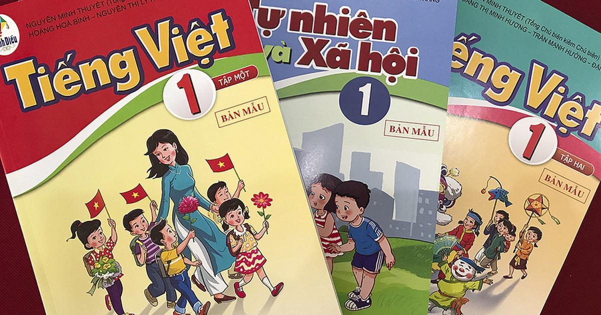 Công bố tài liệu điều chỉnh, bổ sung sách tiếng Việt lớp 1 Cánh diều