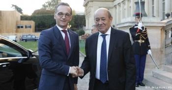 Ngoại trưởng Pháp, Đức kêu gọi Mỹ cùng bắt tay đối phó Trung Quốc