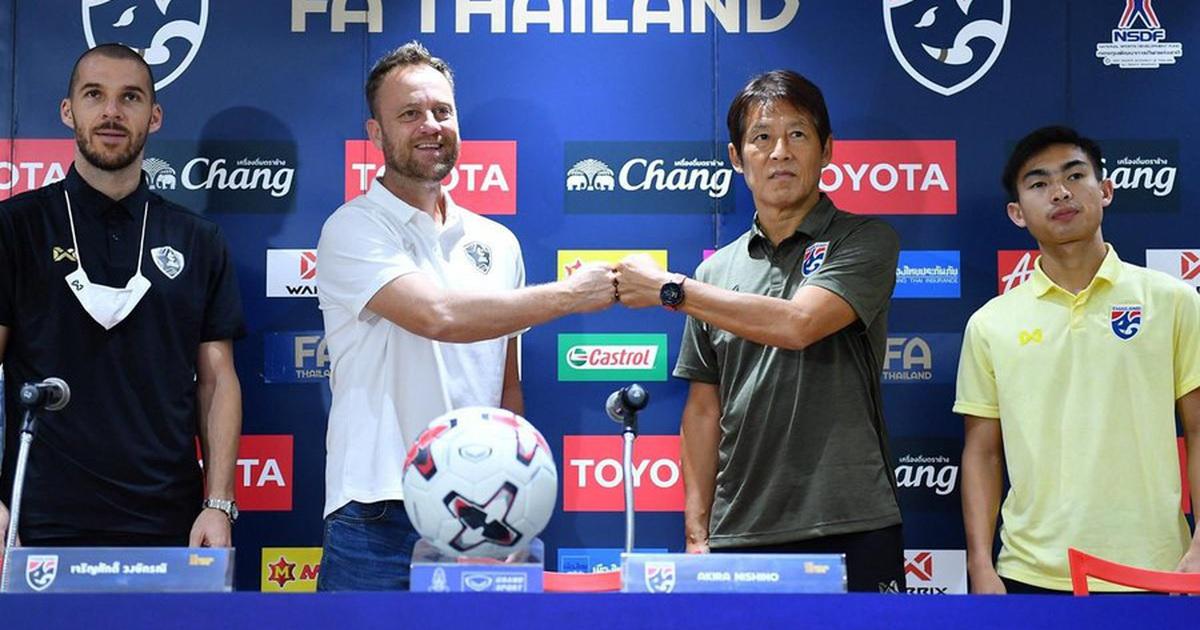 HLV Thái Lan được giao nhiệm vụ vượt qua đội tuyển Việt Nam