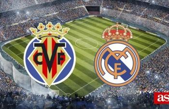 Xem trực tiếp Villarreal vs Real Madrid ở đâu?