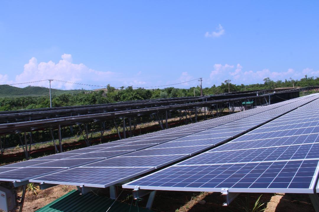 Điện mặt trời: