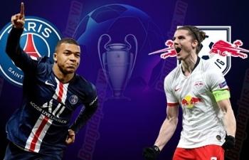 Xem trực tiếp PSG vs Leipzig ở đâu?
