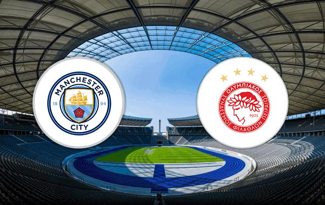 Kênh xem trực tiếp Olympiakos vs Man City, vòng bảng C1 Châu Âu 2020-2021