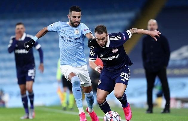 Link xem trực tiếp Olympiakos vs Man City (Cup C1 Châu Âu), 0h55 ngày 26/11