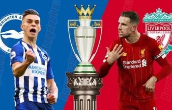 Kênh xem trực tiếp Brighton vs Liverpool, vòng 10 Ngoại hạng Anh 2020-2021