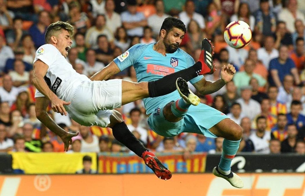 Kênh xem trực tiếp Valencia vs Atletico Madrid, vòng 11 La Liga 2020-2021