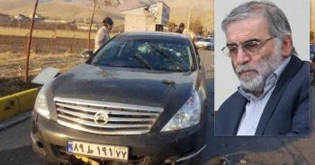 Vụ phục kích táo tợn bằng bom xe giết chết cha đẻ hạt nhân Iran