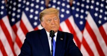 """Ông Trump nói hơn 1 triệu phiếu bầu ở Pennsylvania """"từ trên trời rơi xuống"""""""