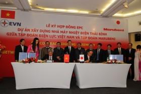 Ký hợp đồng EPC dự án Nhà máy Nhiệt điện Thái Bình