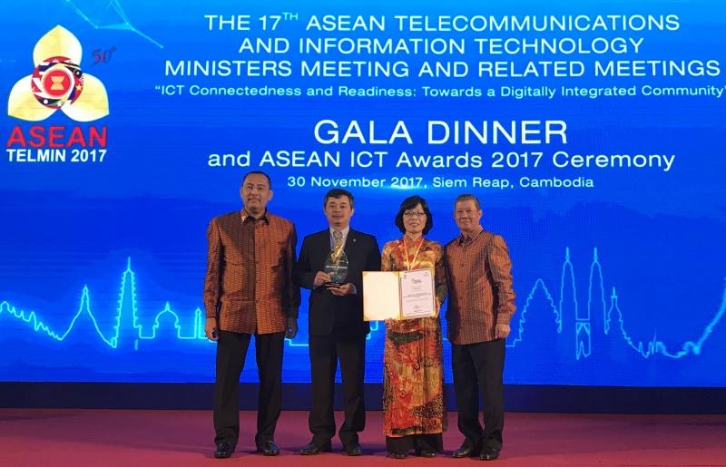 phan mem ngan hang viet chinh phuc asean ict awards