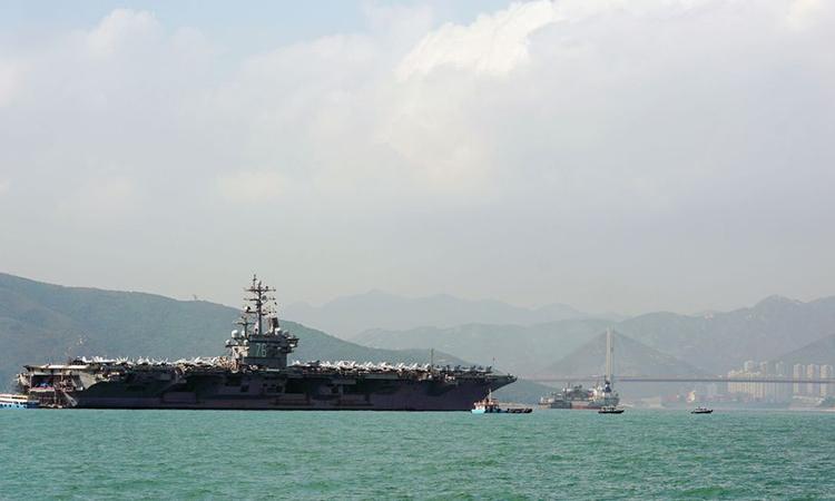 Trung Quốc không cho tàu chiến Mỹ thăm Hong Kong