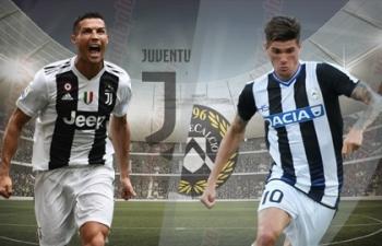 Xem trực tiếp Juventus vs Udinese ở đâu?