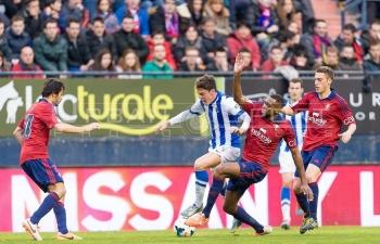 Link xem trực tiếp Osasuna vs Real Sociedad (La Liga), 20h ngày 22/12
