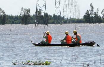 Đường dây 220kV Châu Đốc - Tà Keo: 10 năm - 10 tỷ kWh