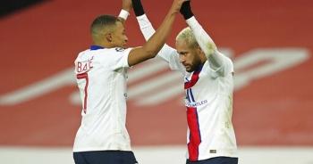 Man Utd 1-3 PSG: Neymar lập cú đúp, Fred bị đuổi