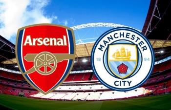 Kênh xem trực tiếp Arsenal vs Man City, Tứ kết Cup Liên đoàn Anh 2020-2021