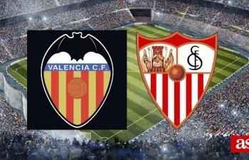 Kênh xem trực tiếp Valencia vs Sevilla, vòng 15 La Liga 2020-2021