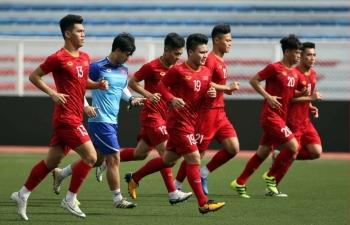 Kênh xem trực tiếp Đội tuyển Quốc gia Việt Nam vs U22 Việt Nam, 18h ngày 23/12