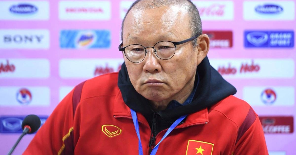 """HLV Park Hang Seo: """"Đội tuyển Việt Nam đủ trụ cột sẽ khác"""""""